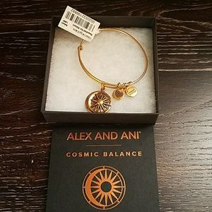 Brand new Alex and Ani cosmic balance bracelet